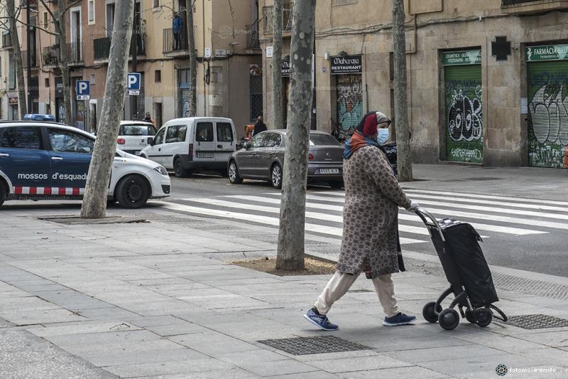 Foto: Fotomovimiento. Pedro Mata. Barcelona durant el confinament