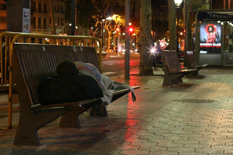 Viure al carrer. Font: Arrels Fundació (Flickr)