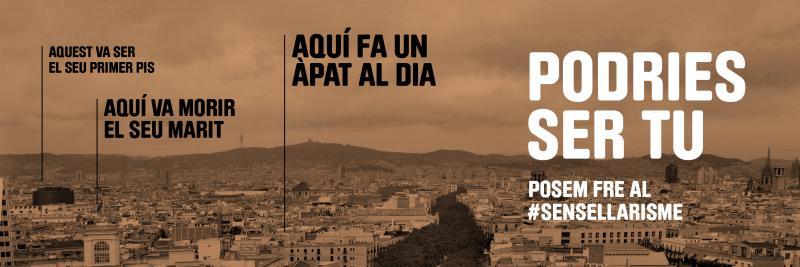 Campanya de comunicació de la Xarxa dAtenció a Persones Sense Llar