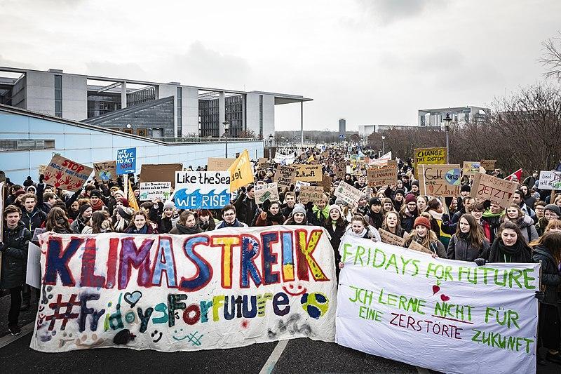 Fridays for Future. 25 de gener de 2019, Berlin