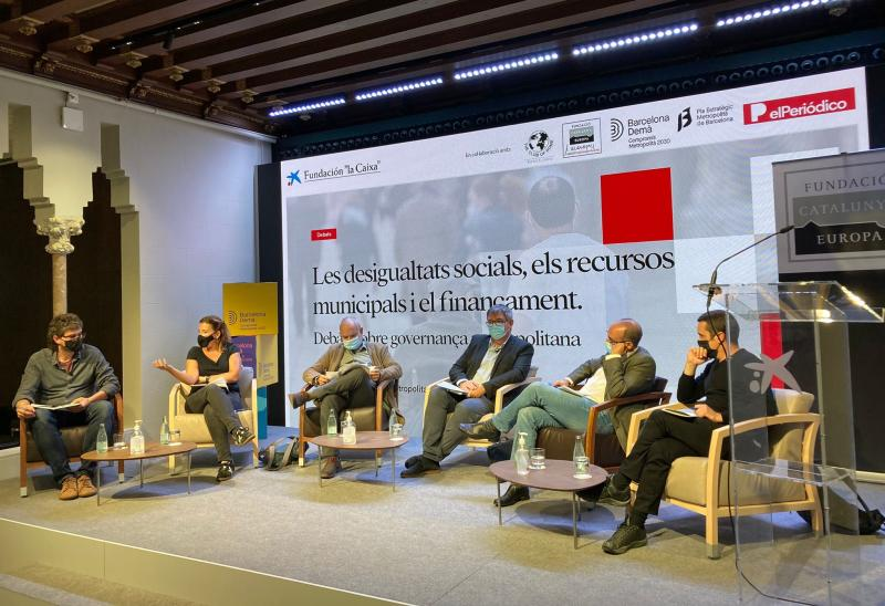 Mesa: La segregación urbana y las desigualdades sociales en la Barcelona metropolitana
