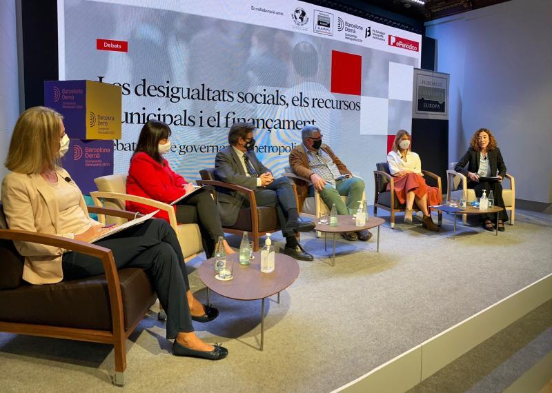 Mesa: Qué herramientas de solidaridad metropolitana pueden ayudar a combatir las desigualdades territoriales