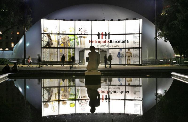 Exposición Metrópolis Barcelona